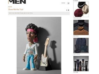 """매거진 <노블레스> 에"""" GoL- Jimi Hendrix"""" 가 실렸었습니다.^^"""