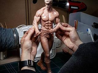 "Concept Statue series, "" 北斗の拳 - Kenshiro """