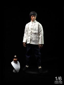 """Bruce Lee"" 1/6 Custom Action Figure"