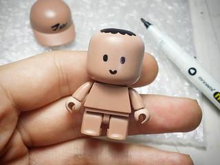 JinTory 얼굴 네임펜으로 살짝~! ^^