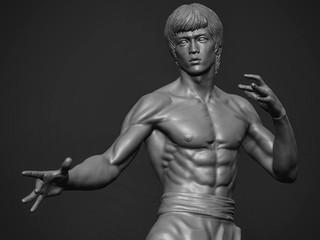 [WIP]  Bruce Lee, 1/9 scale statue