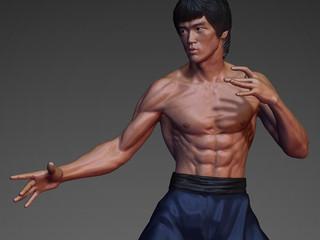 [WIP]  Bruce Lee, 1/8 scale statue