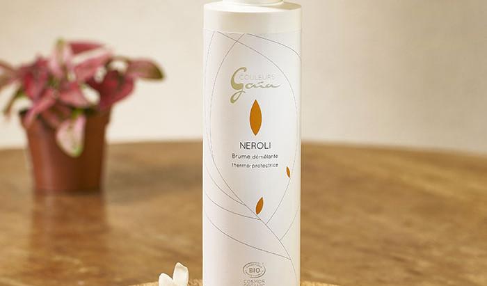 Néroli, notre nouvelle brume démêlante bio