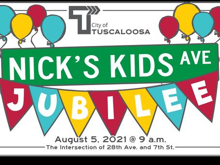 Nick's Kids Avenue Street Renaming Celebration
