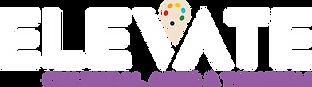 Elevate Cultural Arts & Tourism (Paint Palette & Purple) - White Logo.png