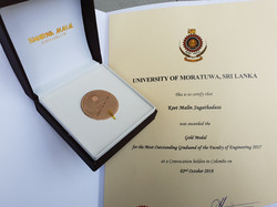 Gold Medal - Engineering Faculty
