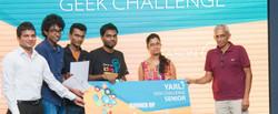 Yarl Geek Challenge 2015-Runners Up