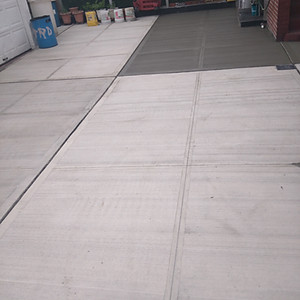 New Cement Driveway