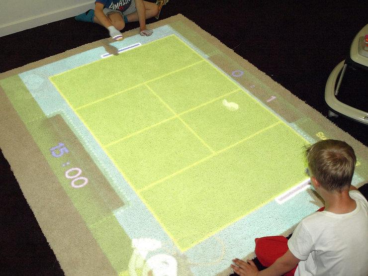 Podłoga interaktywna