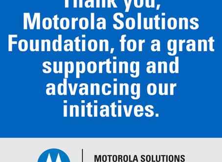 Patrones Hermosos obtiene el premio 2018 de Motorola Solutions Foundation
