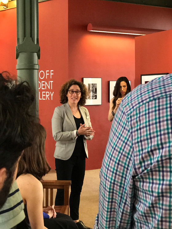 Meredith Speaks at Union College Art Opening