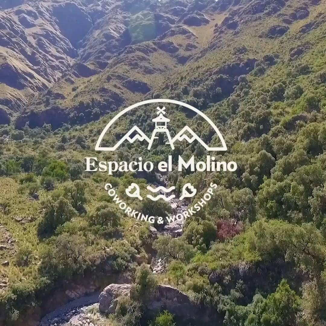 #EspacioElMolino tiene como finalidad ofrecer un lugar de trabajo y aprendizaje que mejore la #CalidadDeVida de quienes eligen las #SierrasDeCórdoba para vivir o pasar unos días en un entorno #Natural ⛰️🖥️ molinocoworking@gmail.com fb.me/molinocowork