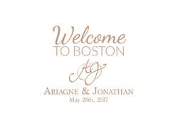 Wedding Welcome Bag Label