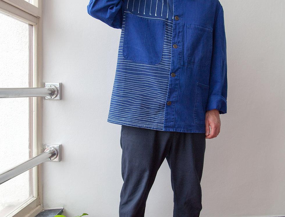 Workwear Striped Jacket