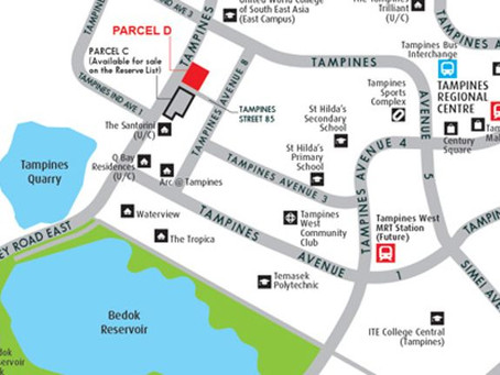 URA releases new residential sale site in Tampines for private housing