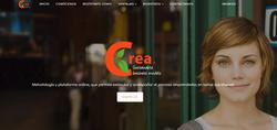CREA pantallazo web 2019