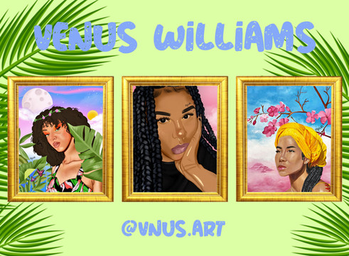 Venus Williams: Artist of the Week