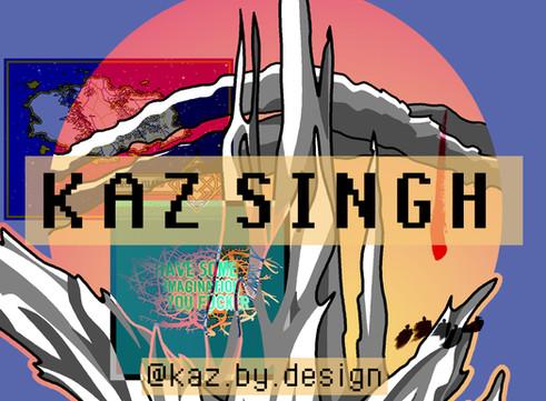 Kaz Singh: Artist of the Week