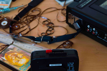 How to make a tape loop Workshop images