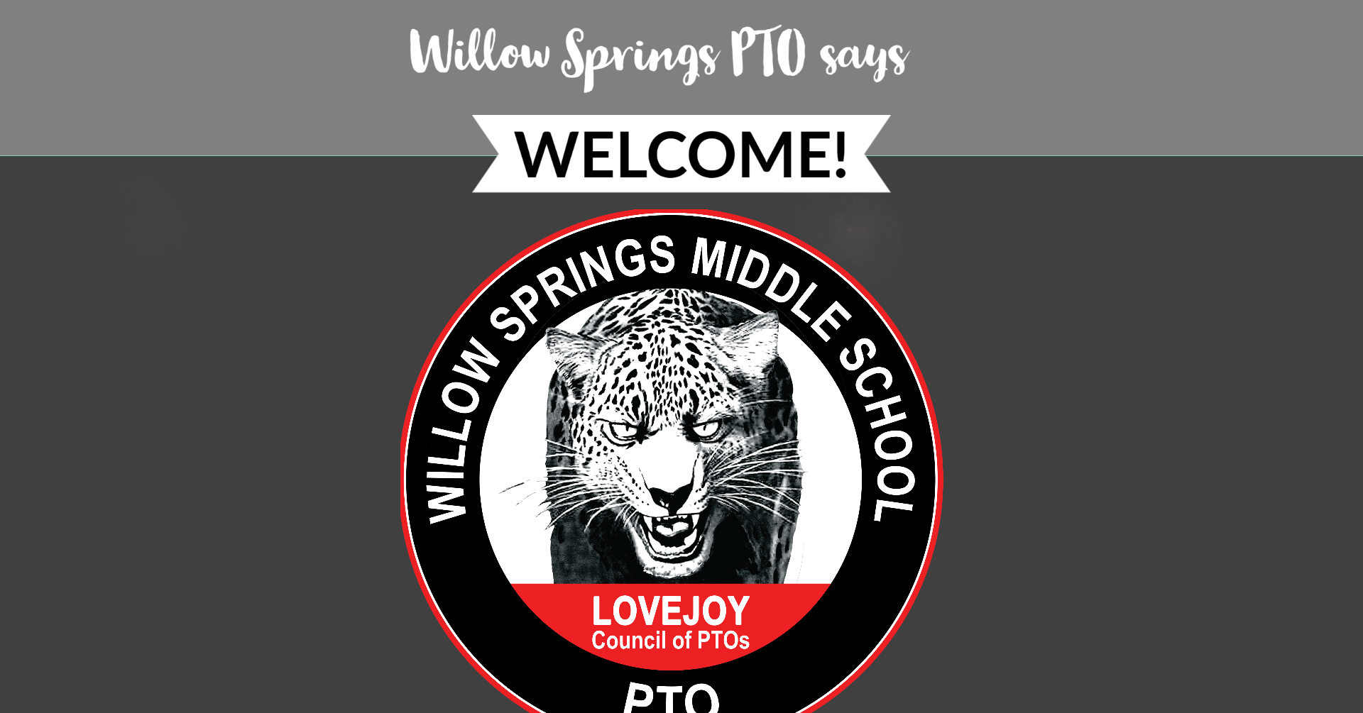 PTO says Welcome