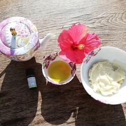Masque cheveux hibiscus