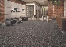 Carpete Colortuft Floral comercial