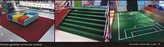 Grama Comfort Grass - Summer na escada