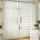 cortina em tecido instalado