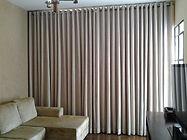 cortina em tecido casa sonho