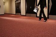 Carpete Colorstone ambiente comercial
