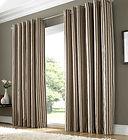 cortina em marron casa sonho