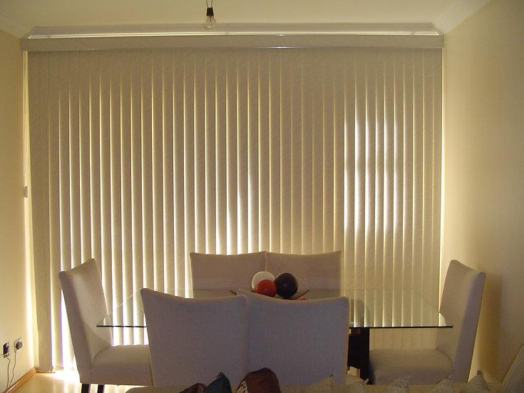 Persiana Vertical 90mm Black-Out 1.60x1.40 I Preço R$ 470,00 por Unidade