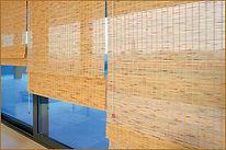 persiana cortina rolo bambu