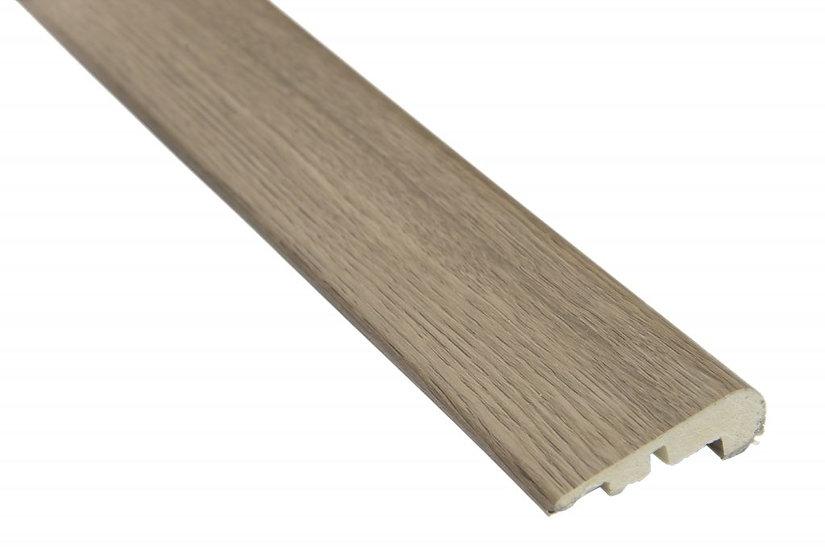 Perfil Frontal Escada Para Vinilico 5mm I Preço R$ 99,00 por Barra com 2,40ml