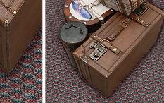 Carpete Saxony design instalado