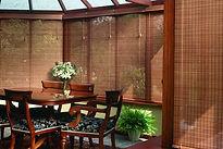 persiana de bambu em santo amaro