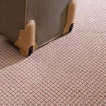 Carpete Saxony design colocado
