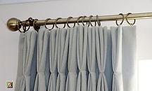 colocação cortina