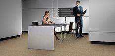 Carpete Luminiere ambiente escritorio