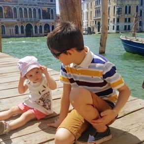Cómo organizar un itinerario con niños en Venecia