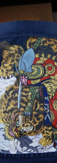 Samurai vs Tiger jacket
