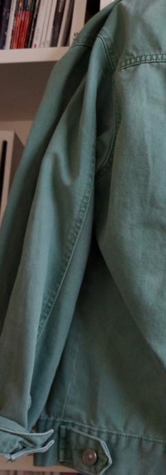 Crane bird jacket