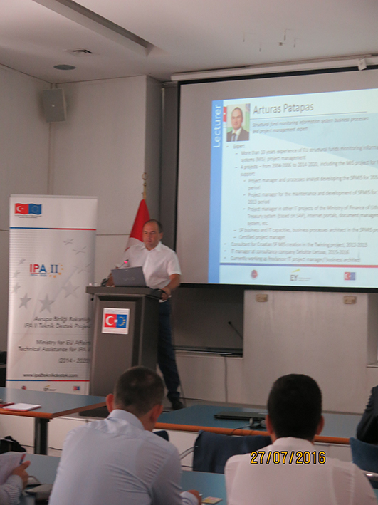 Training on SFC 2014 - EU Structural