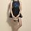 Thumbnail: Vestido busto bordado saia tule