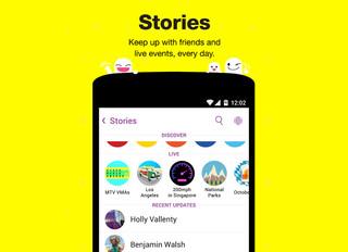 "Snapchat ""Stories"" Update"