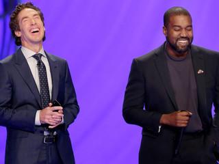 Kanye West visits Joel Osteen