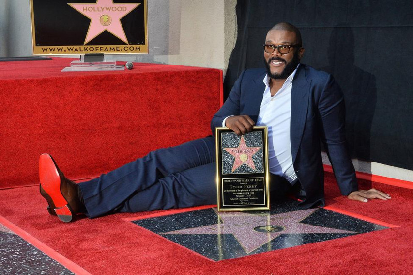 Reveal of Tyler Perry Star LA
