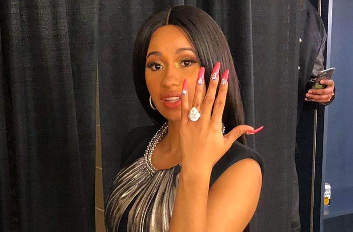 Cardi B Engagement Ring