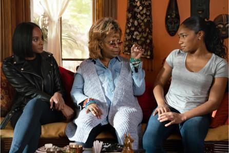 TIka Sumpter, Whoopi Goldberg & Tiffany Haddish in Tyler Perry's Nobody's Fool