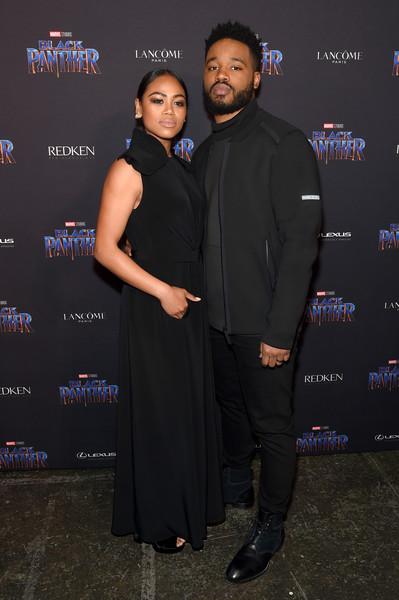 Ryan Coogler & Zinzi Evans at The Black Panther Welcome to Wakanda New York Fashion Week Showcase